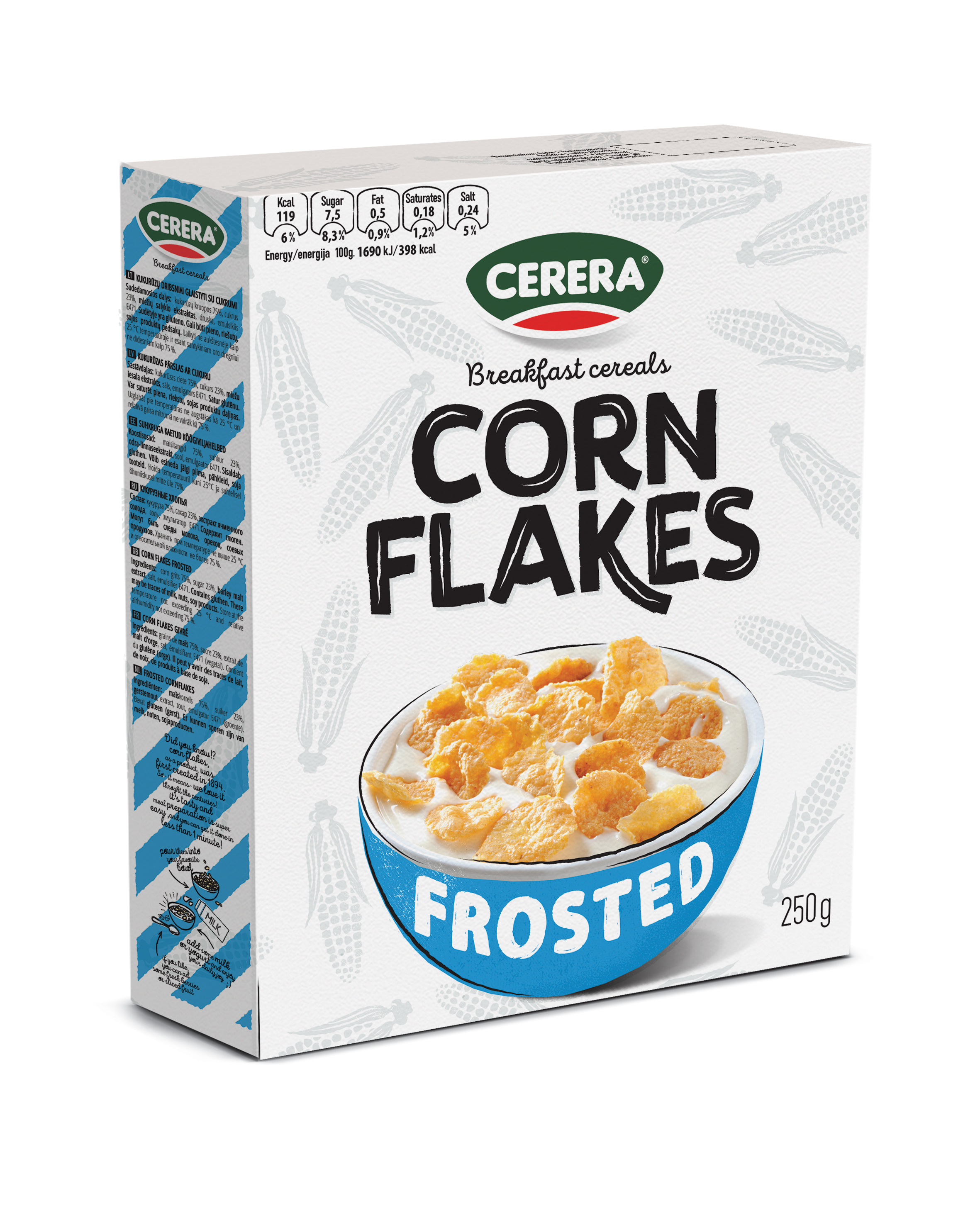 corn flakes frosted