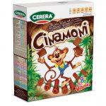 box cinnamon breakfast cereal